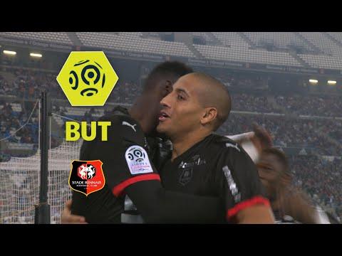 But Wahbi KHAZRI (2') / Olympique de Marseille - Stade Rennais FC (1-3)  / 2017-18
