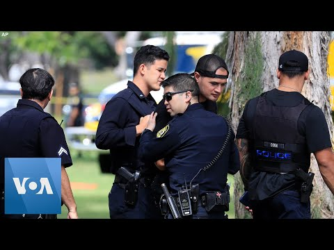 Homes Burn After Shooter Kills 2 Police Officers in Honolulu, Hawaii