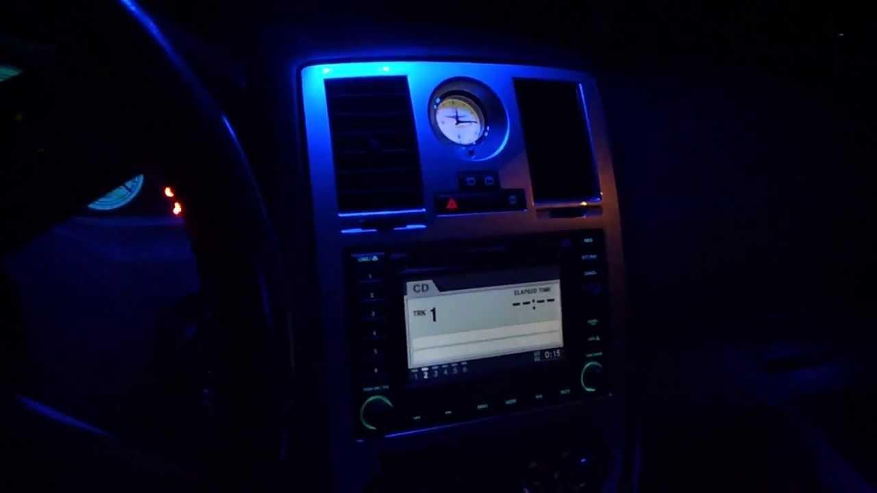 300c Blue Interior Led Lights