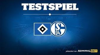 RELIVE: Testspiel Hamburger SV vs. FC Schalke 04