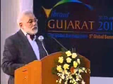 Narendra Modi, Chief Minister of Gujarat, India