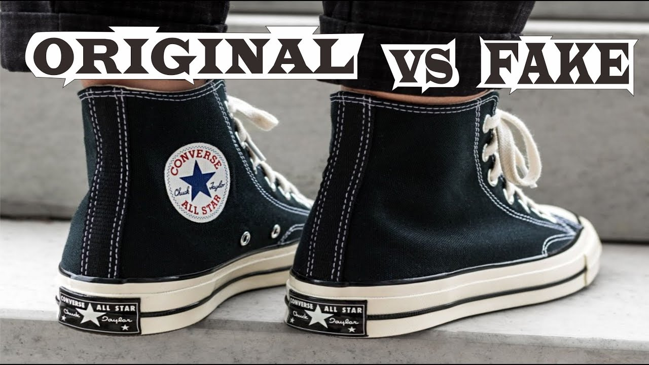 converse chuck taylor real vs fake
