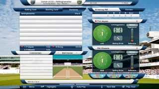 International Cricket Captain 2014 - Menu