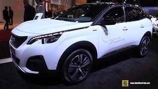 2017 Peugeot 3008 GT Line - Exterior and Interior Walkaround - Debut at 2016 Paris Motor Show