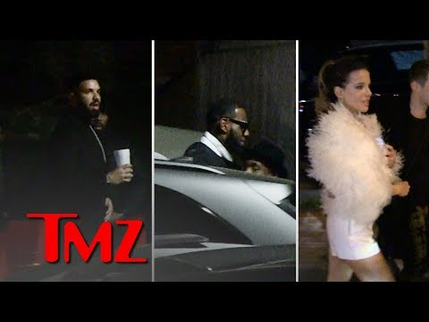Drake Brings Out All the Stars for His New Year's Eve Champagne Party | TMZ Mp3
