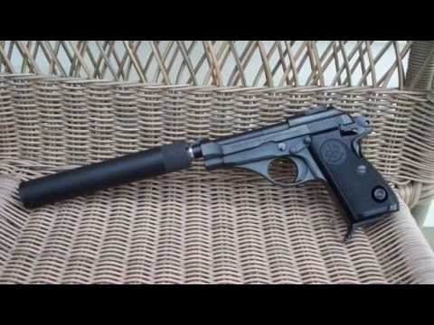 Beretta 70S with SWR Spectre Suppressor