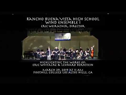 [4K] Rancho Buena Vista High School Wind Ensemble Foothill College
