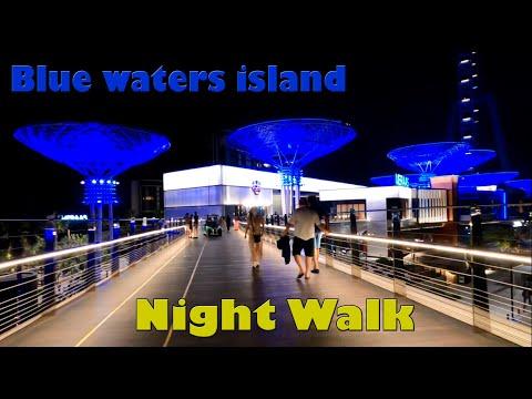 Bluewaters Island 2021 | Virtual Walking Tour | Dubai Best Places