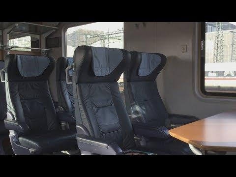 Intercity der Deutschen Bahn: Vorstellung und Mitfahrt von Frankfurt nach Köln mit DB Lounge