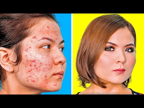 MAKEUP TRANSFORMATIONS || 10 HOLY GRAIL MAKEUP IDEAS YOU WILL FIND USEFUL thumbnail