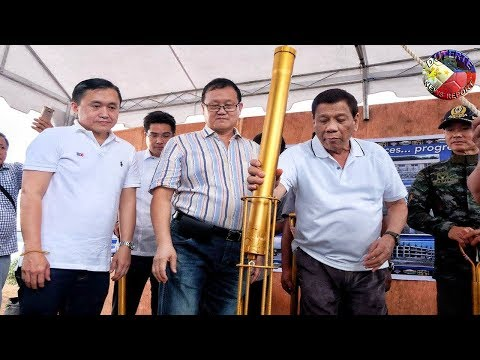 DUTERTE LATEST VIDEO MAY 20, 2018 | DUTERE LEADS THE GROUNDBREAKING VISTA ALEGRE HOMES CEREMONY