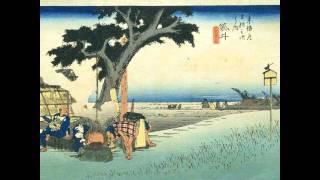 東海道五十三次 歌川広重 浮世絵
