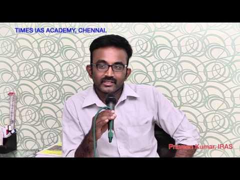 Political Science as an Optional for UPSC mains exam - Mr.Praveen kumar, IRAS