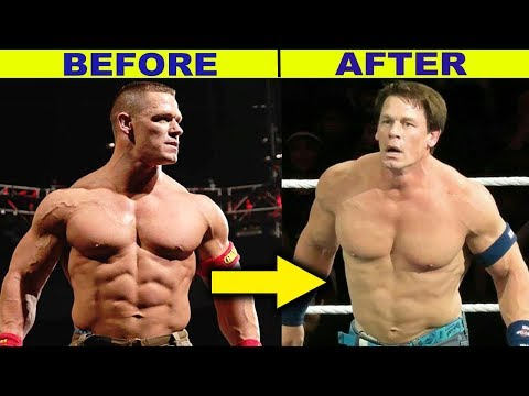 10 Surprising WWE Body Transformations 2019 - John Cena & more