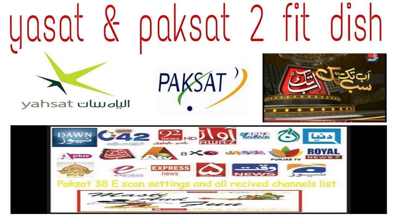 Yasat & paksat 2 fit dish