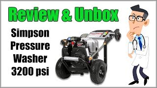 Best Home Pressure Washer - Simpson Review