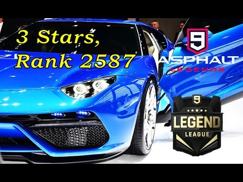 Asphalt 9 Multiplayer - LEAD ME TO LEGEND!!! 3-star Asterion [+Commentary]