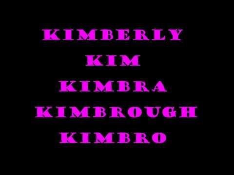 Nombres de niña que empiezan por K