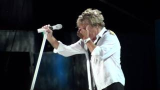 ROD STEWART live ARENA di VERONA 21.06.2010, RAINY NIGHT IN GEORGIA