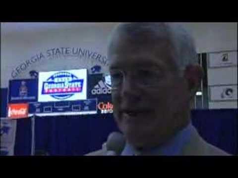 Georgia State Football Consultant Dan Reeves