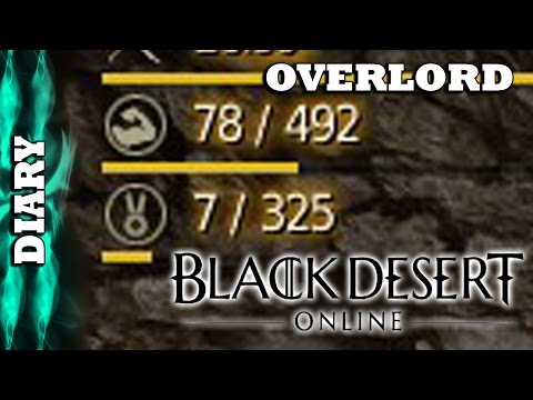 Black Desert Overlord - Diary - My Energy, My Contribution, My Grind