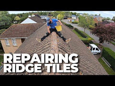 REPAIRING RIDGE TILES | Build with A&E
