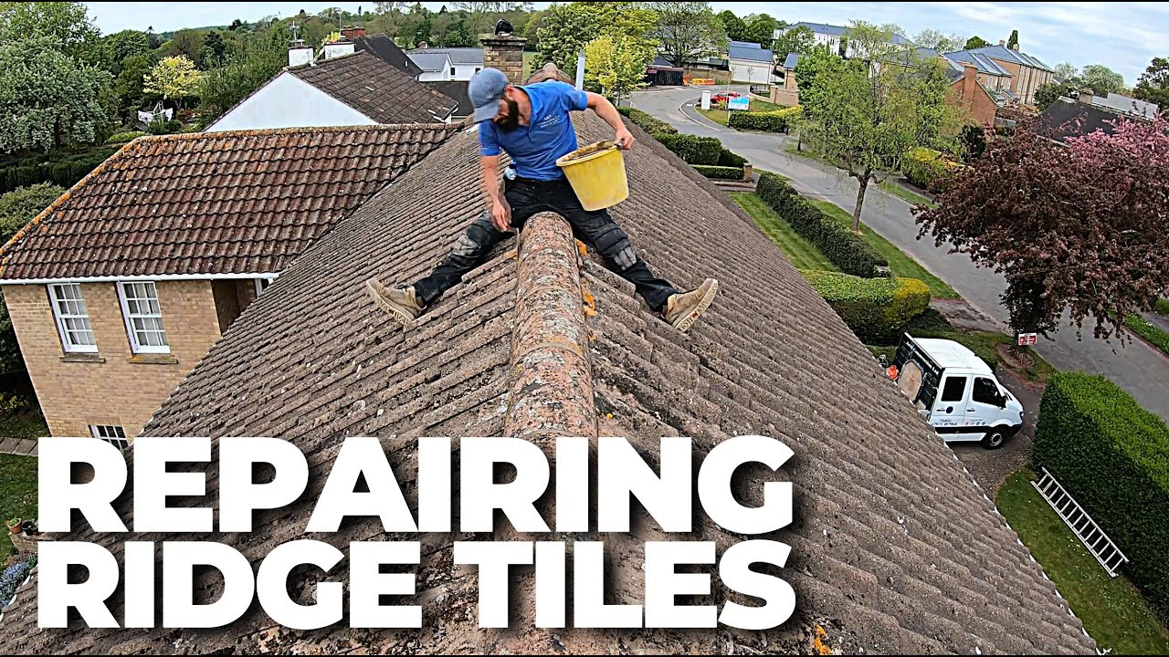 HOW TO REPAIR RIDGE TILES | Build with A&E
