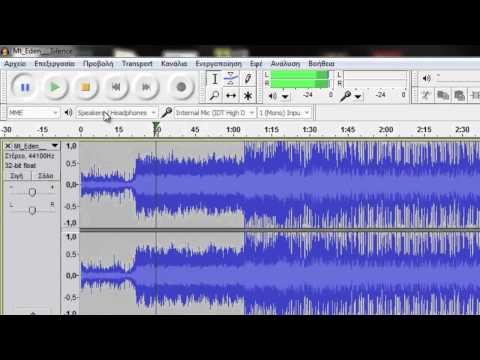 How to Cut a Song using Audacity.