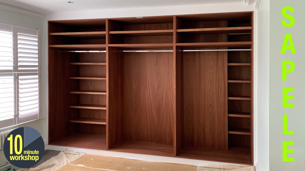 Built in wardrobes with great shelving ideas [video #342 ...
