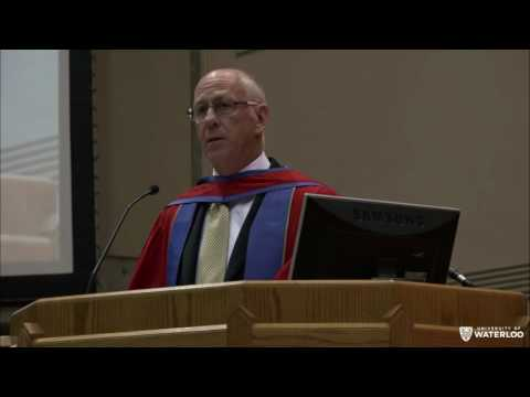 UWaterloo Spring Convocation 2016 - Arts (Morning)