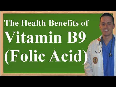 The Health Benefits of Vitamin B9 (Folic Acid, Folate)