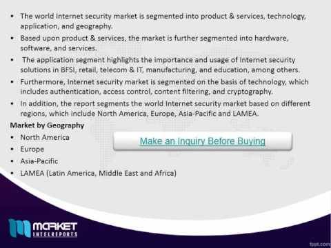 World Internet Security Market   Opportunities and Forecast, 2014   2020