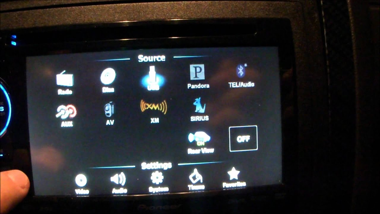 maxresdefault pioneer avh p1400dvd head unit installed in a dodge charger youtube pioneer avh p1400dvd wiring diagram at gsmx.co