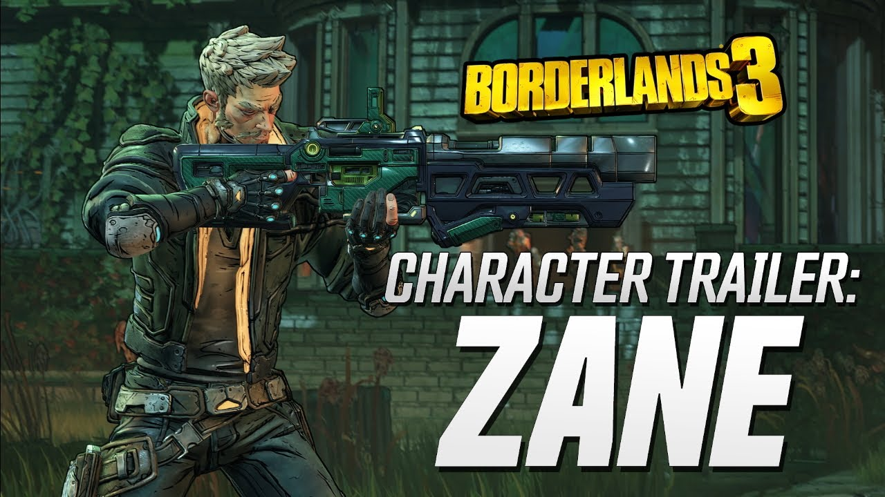 Borderlands 3 - Zane Character Trailer: