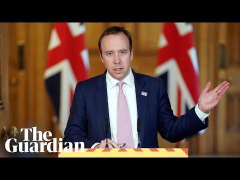 Coronavirus: Matt Hancock Holds UK Briefing – Watch In Full
