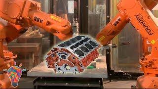German BMW Engine Block Casting - Super Car Engine Body CNC Lathe
