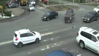 ДТП на ул Тургенева и ул Калинина 19 04 15