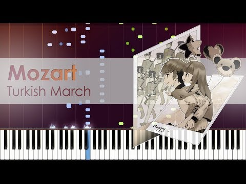 [Deemo 3.0] Mozart - Turkish March (Deemo Ver.) | Piano Synthesia