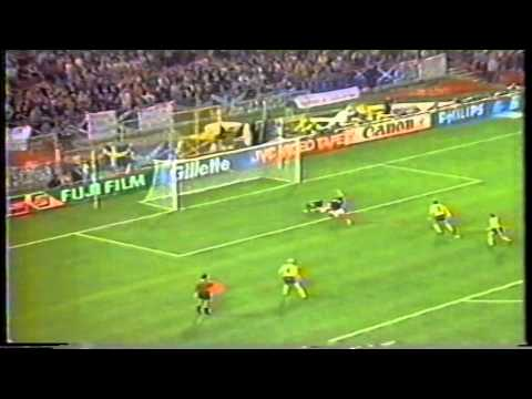 Escócia 2x1 Suécia Copa 1990 Rede Manchete