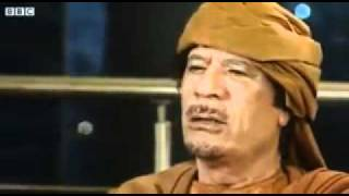 gaddafi says all my people love me we are beyond madness