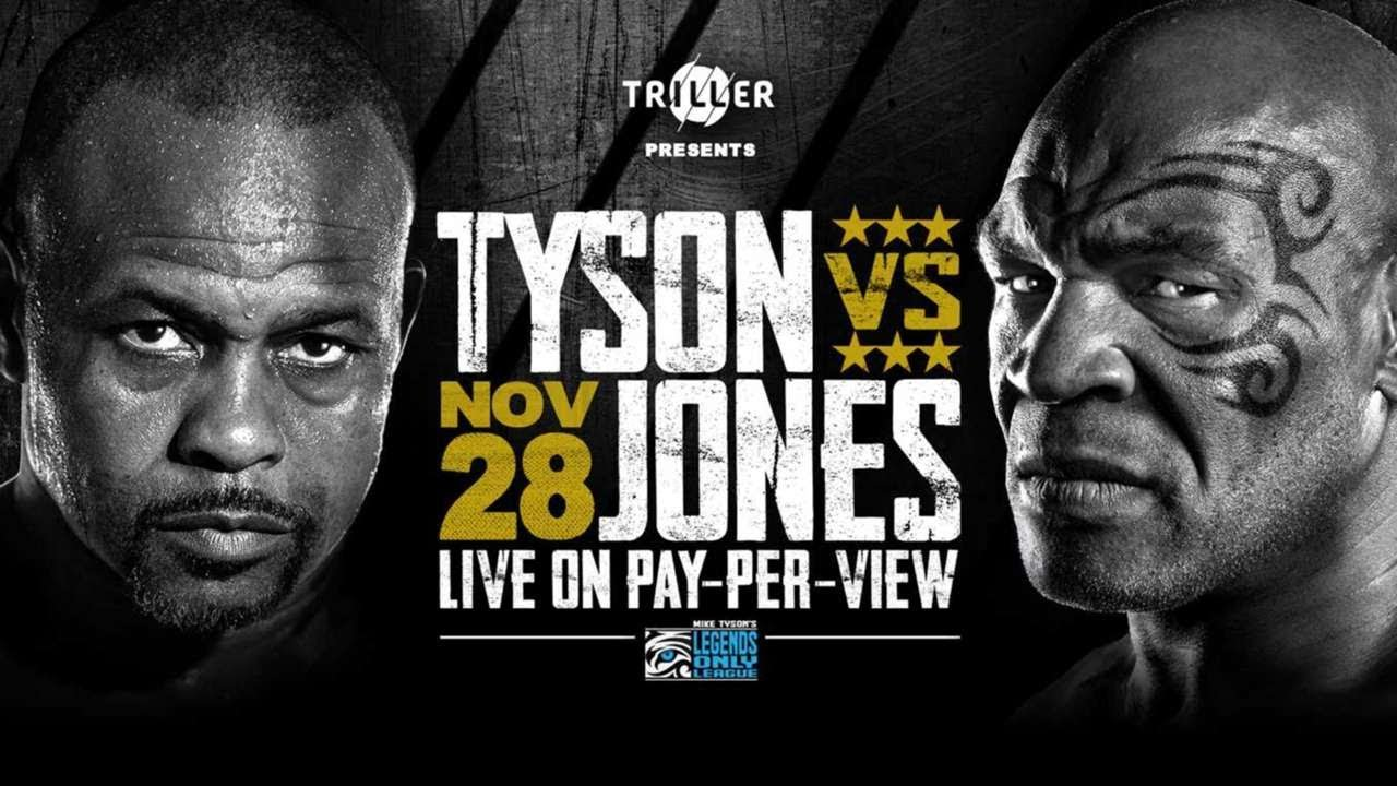 Download Mike Tyson vs Roy Jones Jr  Weigh In and Face Off