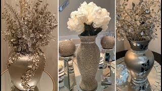 New 2020 Decorating Ideas || 💕 Champagne Gold Home Decor || Decorative Vases 💕