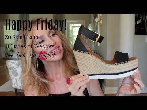 Happy Friday! ZO Skin Health 💋  New Dior Lips and Wedges!