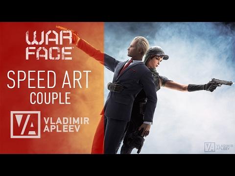 Warface Speed Art - Couple