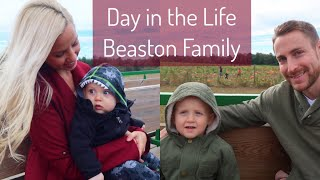 BEASTON FAMILY VLOGS 2017// DAY IN THE LIFE WITH A 2 YEAR OLD AND 8 MONTH OLD