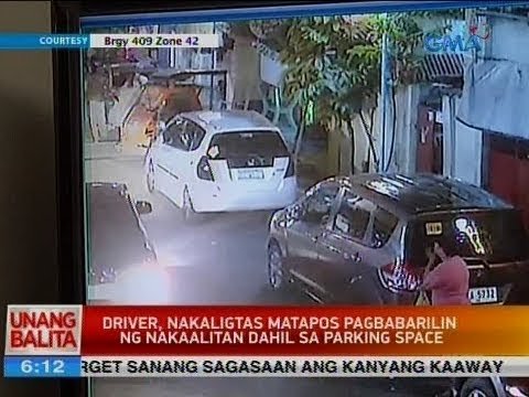 UB: Driver, nakaligtas matapos pagbabarilin ng nakaalitan dahil sa parking space