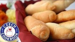 Bread Rolls Recipe - Rohlíky - Czech Cookbook