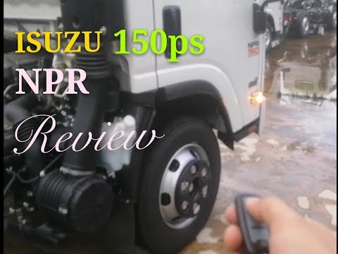 ISUZU NPR 150 - Review dan Sperifikasi