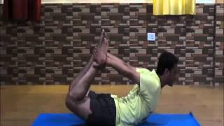 Watch Dhanurasana (Bow Pose) Videos by Sri Ravindra Padiyal from Kaivalya Yoga School