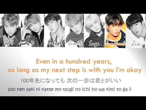 BTS (防弾少年団)  - 'Crystal Snow' Lyrics Video (Romaji/Kanji/English)